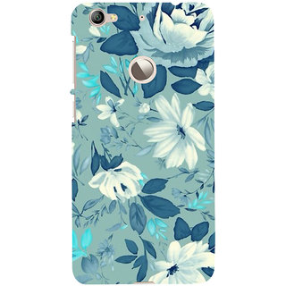 ifasho Modern Art Design animated cloth Pattern of flower Back Case Cover for LeTV 1S