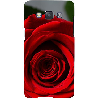 ifasho Red Rose Back Case Cover for Samsung Galaxy A7