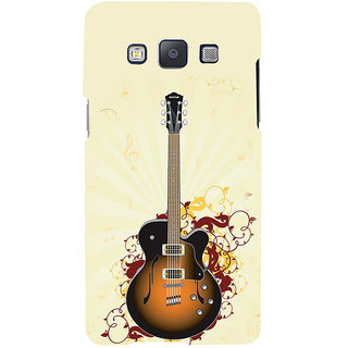 ifasho Modern Art Design Pattern Music Ins3Dument Guitar Back Case Cover for Samsung Galaxy A7