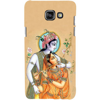 ifasho radha Krishna Back Case Cover for Samsung Galaxy A5 A510 (2016 Edition)