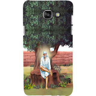 ifasho Shirdi wale Sai Baba Back Case Cover for Samsung Galaxy A5 A510 (2016 Edition)