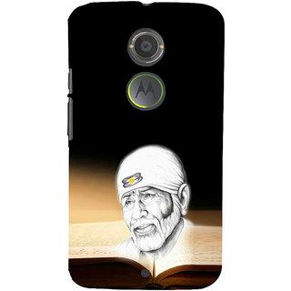 ifasho Sai baba Back Case Cover for Moto E2