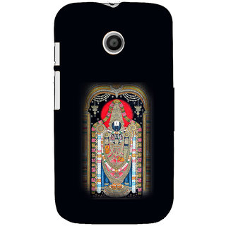 ifasho Tirupati Balaji Back Case Cover for MOTO E