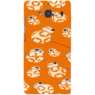 ifasho Animated Pattern colrful 3Dibal design Back Case Cover for Redmi 2S