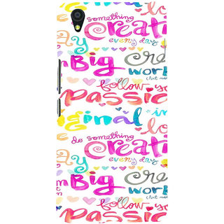 ifasho Motivatinal Quote Back Case Cover for One Plus X