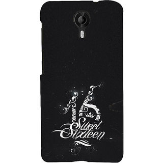 ifasho sweet sixteen quotes Back Case Cover for Micromax CanvasNitro3E455
