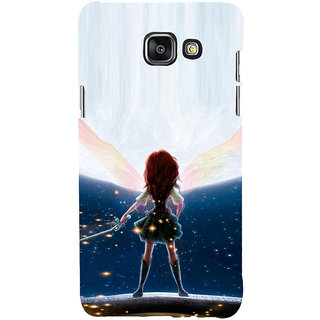 ifasho Girl with blade animated Back Case Cover for Samsung Galaxy A5 A510 (2016 Edition)