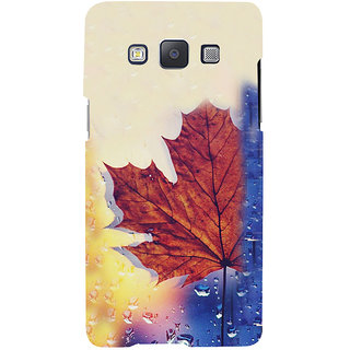ifasho water Drop on brown leaf Back Case Cover for Samsung Galaxy A7
