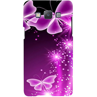 ifasho Butterfly Back Case Cover for Samsung Galaxy A7