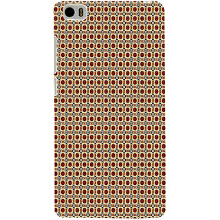 ifasho Animated Pattern design many small flowers  Back Case Cover for Redmi Mi5