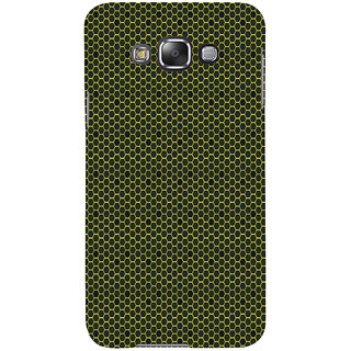 ifasho Modern Art Design Pattern honey Bee case style Back Case Cover for Samsung Galaxy E7
