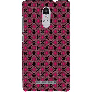 ifasho Animated Pattern design many small flowers  Back Case Cover for REDMI Note 3