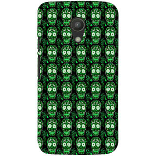 ifasho Modern  Design animated skeleton Pattern Back Case Cover for Moto G2