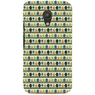 ifasho Animated Pattern colrful 3Dibal design with small 3Dees  Back Case Cover for Moto G2