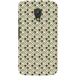 ifasho Animated Pattern design many small  full and half Back Case Cover for Moto G2