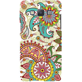 ifasho Animated Pattern colrful design flower with 3Daditional design Back Case Cover for Samsung Galaxy A7