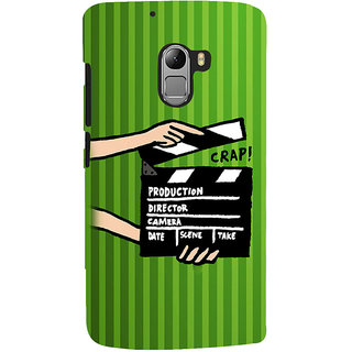 ifasho movie shoots action Back Case Cover for Lenovo K4 Note
