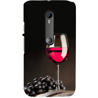 ifasho Wine at Dine Back Case Cover for Moto G3