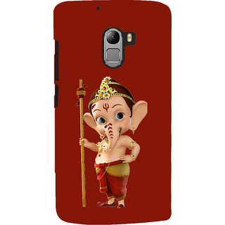 ifasho Modern Art Ganesh Back Case Cover for Lenovo K4 Note