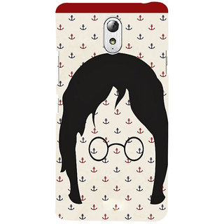 ifasho Modern Art Design Pattern with Lot Of small anchor Back Case Cover for Lenovo Vibe P1M