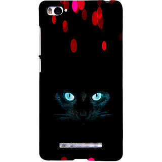 ifasho shining eyes of cat Back Case Cover for Redmi Mi4i