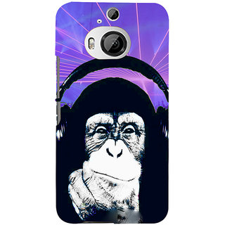 ifasho Monkey with headphone Back Case Cover for HTC ONE M9 Plus