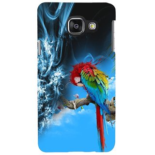 ifasho Parrot In Animation Back Case Cover for Samsung Galaxy A3 A310 (2016 Edition)