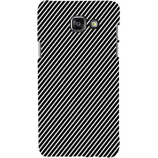 ifasho Design lines pattern Back Case Cover for Samsung Galaxy A5 A510 (2016 Edition)