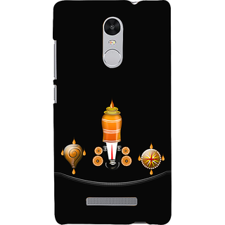 ifasho Tirupati Balaji Back Case Cover for REDMI Note 3