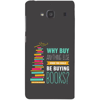 ifasho Good messge on Books Back Case Cover for Redmi 2S