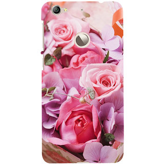 ifasho Red Rose Back Case Cover for LeTV 1S