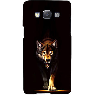 ifasho Angry Wolf Back Case Cover for Samsung Galaxy A7