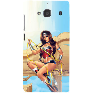 ifasho Girl with blade animated Back Case Cover for Redmi 2S