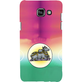 ifasho Nandi lord siva Back Case Cover for Samsung Galaxy A5 A510 (2016 Edition)