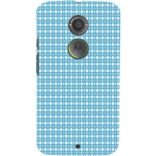 ifasho Modern Art Design animated cloth Pattern Back Case Cover for Moto E2