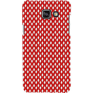 ifasho Animated Pattern design in pearl  Back Case Cover for Samsung Galaxy A5 A510 (2016 Edition)