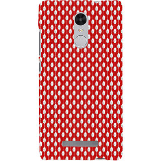 ifasho Animated Pattern design in pearl  Back Case Cover for REDMI Note 3
