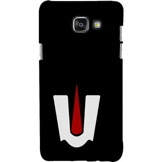 ifasho Ramanuja Tilak Back Case Cover for Samsung Galaxy A5 A510 (2016 Edition)