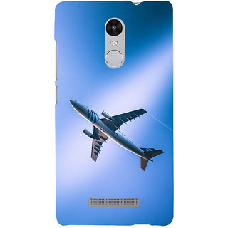 ifasho aeroPlane flying in blue sky Back Case Cover for REDMI Note 3