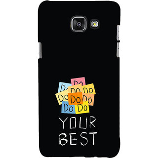 ifasho Do your best Back Case Cover for Samsung Galaxy A7 A710 (2016 Edition)