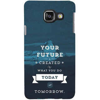 ifasho Good Quote On Future Back Case Cover for Samsung Galaxy A3 A310 (2016 Edition)