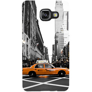 ifasho Car In newyork City taxi Back Case Cover for Samsung Galaxy A3 A310 (2016 Edition)