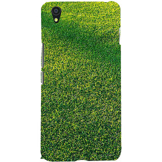 ifasho Animated Pattern grass Back Case Cover for One Plus X