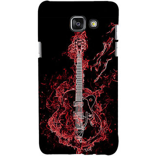 ifasho Animated  Guitar Back Case Cover for Samsung Galaxy A5 A510 (2016 Edition)