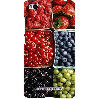 ifasho Fruits pattern Back Case Cover for Redmi Mi4i
