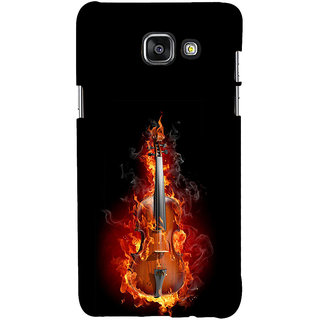 ifasho Animated  Guitar Back Case Cover for Samsung Galaxy A7 A710 (2016 Edition)