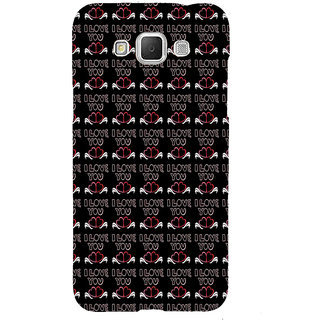 ifasho Animated Pattern With Love and heart and I love you Back Case Cover for Samsung Galaxy Grand Max