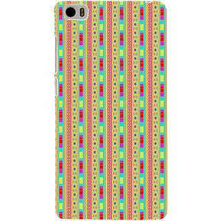 ifasho Animated Pattern colrful 3Daditional design Back Case Cover for Redmi Mi5