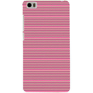 ifasho Animated Pattern of pink lining pattern Back Case Cover for Redmi Mi5
