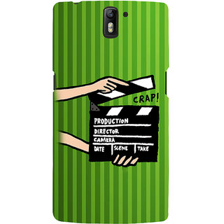 ifasho movie shoots action Back Case Cover for One Plus One
